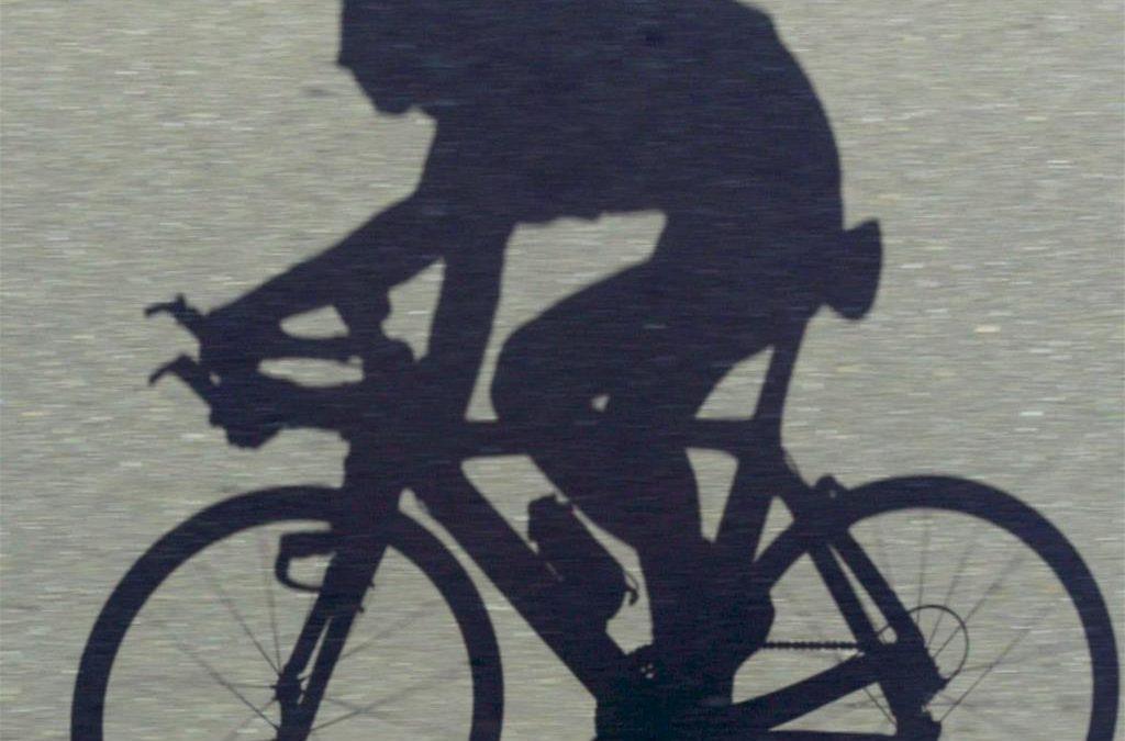 L'ombra del ciclista